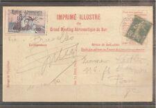 CPA MEETING AERIEN DE BUC OCTOBRE 1920 OBLITERE POUR BELGIQUE
