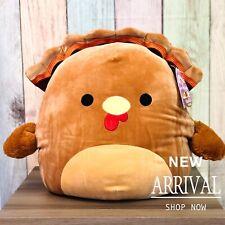 "Kellytoy Squishmallow 16"" Large Terry the Turkey NEW LT ED HTF Plush Toy Animal"
