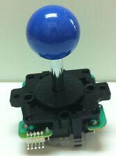 Japan Sanwa Joystick Dark Blue Ball Top Arcade Parts JLF-TP-8Y-DB