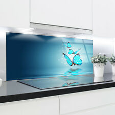 Kitchen Glass Splashback Heat Resistant Toughened Glass 125x50cm