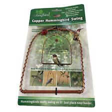 New listing Songbird Essentials Sehhhums Copper Hummingbird Swing Set of 1