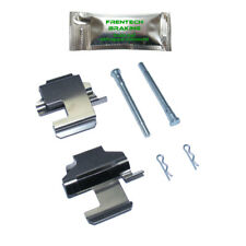Fiat 500 1.2 (07-17) Front brake pad fitting kit pins (Solid - Bosch) PFK1062A