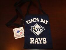 TAMPA BAY RAYS NEW  Game Day Pouch PURSE ZIPPER BAG CASE MAKEUP CAMERA GLASSES