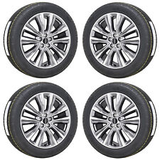 "20"" LINCOLN MKX MACHINED WHEELS RIMS MICHELIN TIRES FACTORY OEM SET 4 10074"