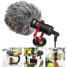 Microphone Video Interview Mic for DSLR Camera fr Mobile Phone Tablet PC Macbook