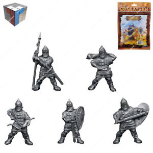 Tehnolog Rusichi 2 Sets Of 5 Pieces 50 mm Scale Fantasy Battle No Painted