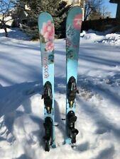 Rossignol Trixie 138 cm Beginner/Intermediate Women/Teens Twin Tip Skis/Bindings