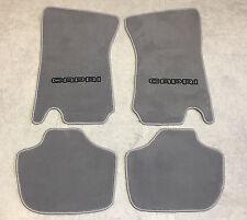Autoteppich Fußmatten für Ford Capri 2-3 Grau schwarz 4teilig Neuware Velours