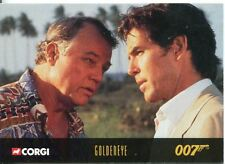 James Bond Corgi Cars Exclusive Trading Card #48 Goldeneye
