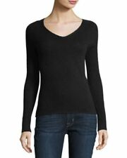 C By Bloomingdale Cashmere  Pullover Sweater By Bloomingdale  Black M  # V 1
