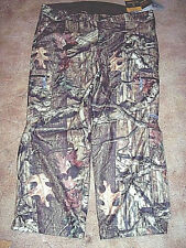 Mens 3X Camo Hunting Pants Mossy Oak Camo Rain Pants Scent Control Waterproof