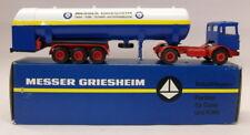 Conrad 1/50 TT300 MAN Diesel Gase Container Messer Griesham Model Truck
