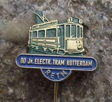 1965 RETM Rotterdam Dutch Electric Tram 60th Anniversary Pin Badge