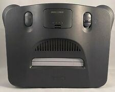 Nintendo 64 N64 Console Black charcoal