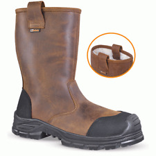 Jallatte Jalcypress SAS S3 CI SRC Water-Repellent Safety Work Rigger Boot