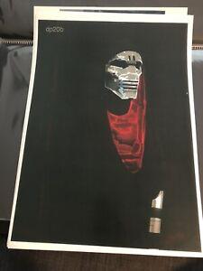 Star Wars The Force Awakens Production used Concept artwork Kylo Ren Lightsaber