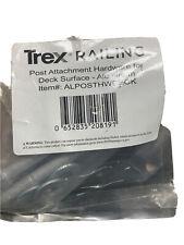Trex Aluminum Deck Post Mount Hardware