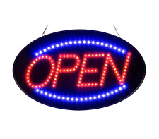 Ultra Bright Led Neon Open Sign for Business Animated Motion Light 2 Modes