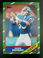 1986 Topps Football Mark Bavaro RC Card #144 a