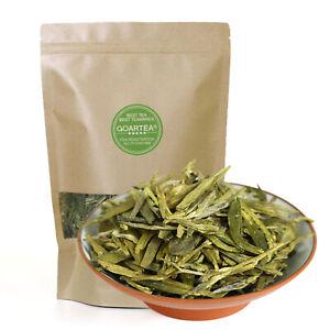 GOARTEA Xihu Longjing Dragon Well Long jing Green Tea Chinese Spring Loose Leaf