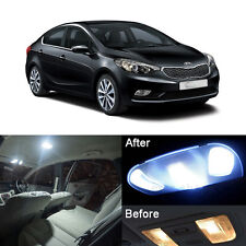 Xenon White LED Interior Light Kit For KIA Forte Cerato K3 2009-2016 (8pcs)