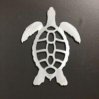 SEATURTLE Aluminum Metal Wall Art Skilwerx 12 X 9 Nautical