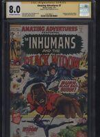 Amazing Adventures #7 CGC 8.0 SS Gerry Conway THE INHUMANS Neal Adams 1971