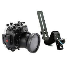 Meikon 130ft Waterproof Diving Housing Case For Fujifilm X-T1 XT1, Diving handle