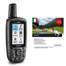 GARMIN GPS MAP 64st GPS PORTATILE COLORI + TREKMAP ITALIA V5 PRO ART 020-00230-1