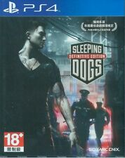 Sleeping Dogs: Definitive Edition (Chi Ver Eng Voice) for PS4 Sony Playstation 4