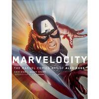 Chip Kidd,Alex Ross Marvelocity: The Marvel Comics Art of Alex Ross  Hardcover