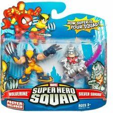 Marvel Superhero Squad - Wolverine & Silver Samurai action figure