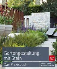 Gartengestaltung mit Stein von Roland Lütkemeyer und Daniela Toman (2012, Gebundene Ausgabe)