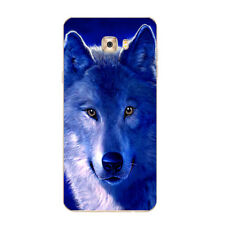 Case For Samsung Galaxy A7 2016 2017 C7 Soft TPU Phone Back Cover Wolf Skins