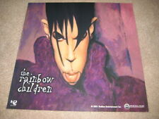 Prince  Two-Sided Rainbow Children 2001 Cardboard Poster Album Flat Rare