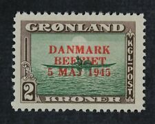 CKStamps: Greenland Stamps Collection Scott#26 Mint H OG