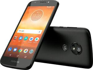 Brand New Motorola Moto E5 Play 5th Gen Black (T-Mobile) Phone+ 3 Months Service