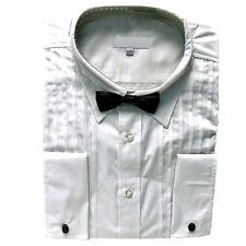 Festliches Herrenhemd, Oberhemd Hemd langarm mit abnehmbarer Fliege Gr XXL weiß