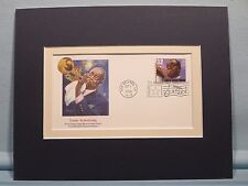 """Jazz Great - """"Satchmo"""" aka  Louis Armstrong &  First day Cover of his stamp"""