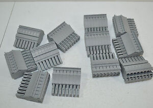 Wago 8 Pole/Position Female Plug Connector Lot of 12 - Part# 2022-108