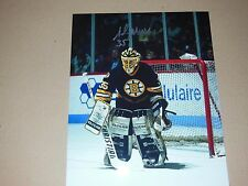 Boston Bruins Andy Moog  Autographed 8x10 Photo Pose 2