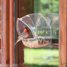 Perky Pet Wild Bird Window Feeder PP-348   NEW