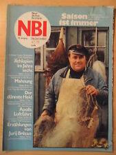NBI 47- 1979 3* Fischer FC Rot Weiß Erfurt BSG Wismut Aue Usedom Fernbreitenbach