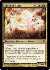 CHILD OF ALARA Conflux MTG Gold Creature — Avatar MYTHIC RARE