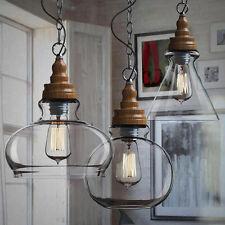 Vintage Industrial Chandeliers Hanging Ceiling Light Pendant Lamp Edison Fixture