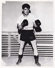 Original Joe Miceli 8 X 10 Autographed Boxing Photo Free Shipping In The Usa