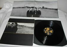 U2 The Joshua Tree + Poster +Lyrics Original First Press EX+ Vinyl LP Island U26