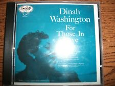 Dinah Washington-For Those In Love-1992 EmArcy!