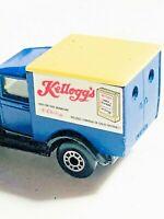 Vintage Matchbox Model A Ford 1979 Kelloggs die cast
