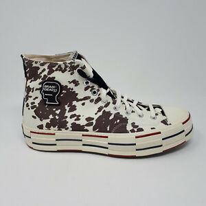 Converse Brain Dead Chuck Taylor 70 Hi 169946C cow print shoe sneaker Men's 10.5
